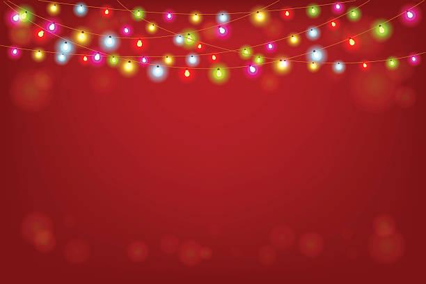 merry christmas vector illustration with copy space - ferien und feiertage stock-grafiken, -clipart, -cartoons und -symbole