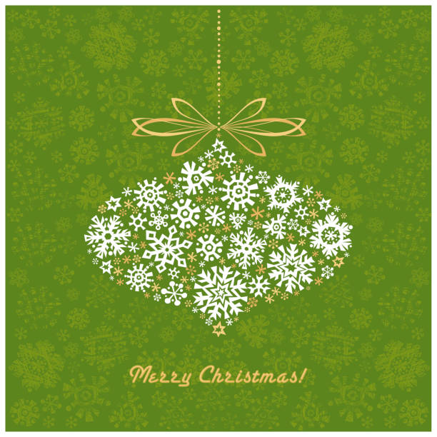 Merry Christmas! Winter Holidays. vector art illustration
