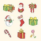 Merry Christmas with Santa Clau
