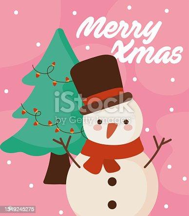 istock merry xmas cartel 1349245275