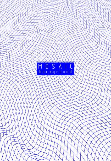 mesh-linien 3d vektor-design, abstrakte hintergrund dimensional low poly kunst. - gartendekorationen stock-grafiken, -clipart, -cartoons und -symbole