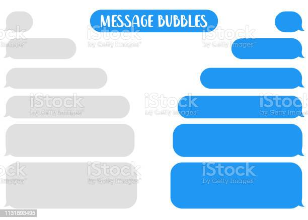 消息氣泡聊天向量向量圖形及更多互聯網圖片