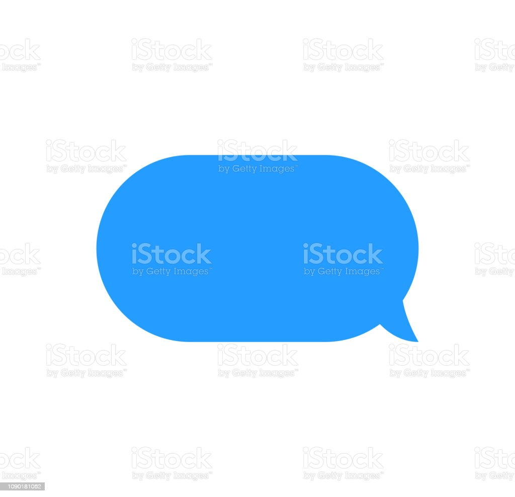 Message bubbles chat vector. Vector template of message bubbles chat...