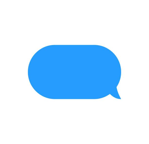 nachricht bläschen chat vektor. vektor vorlage der beitragssymbole bläschen chat-boxen. - sms stock-grafiken, -clipart, -cartoons und -symbole