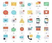 Message Bubbles Icons