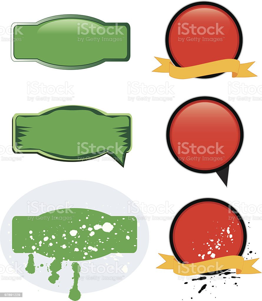 message container- design elements royalty-free message container design elements stock vector art & more images of announcement message