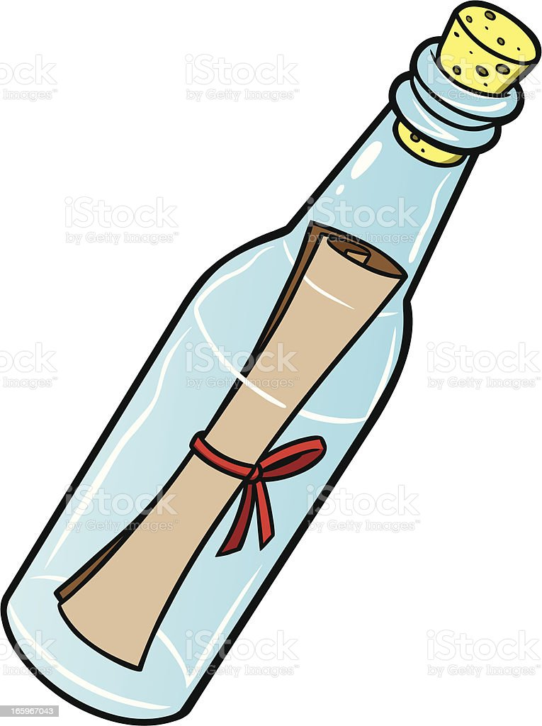 royalty free message in a bottle clip art vector images rh istockphoto com bottle clipart png bottle clipart png