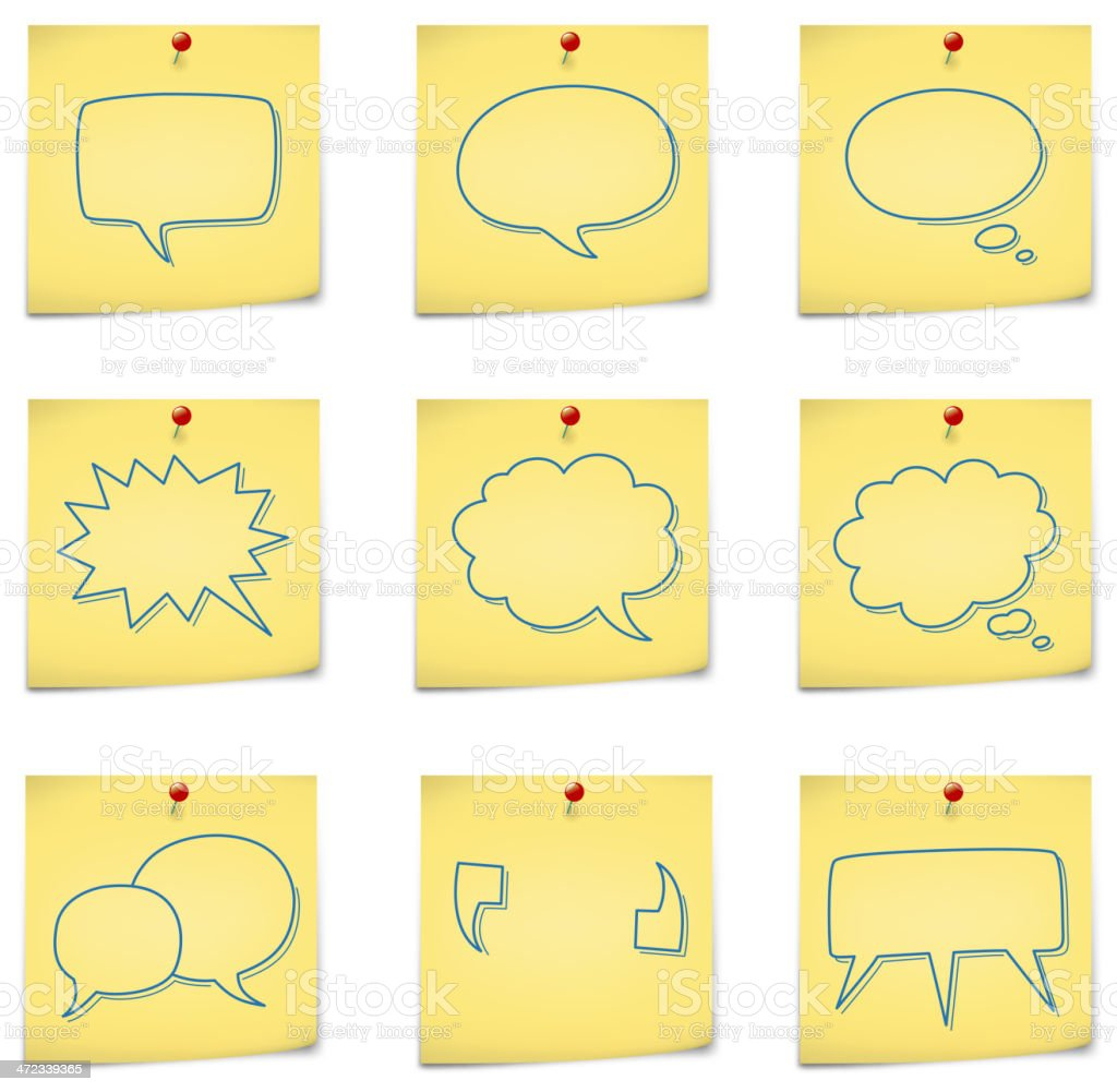 message on notes royalty-free message on notes stock vector art & more images of adhesive note