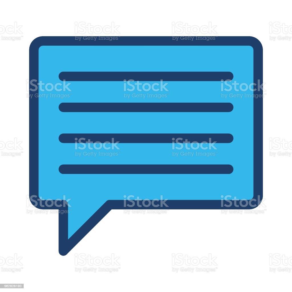 message - arte vettoriale royalty-free di Applicazione mobile