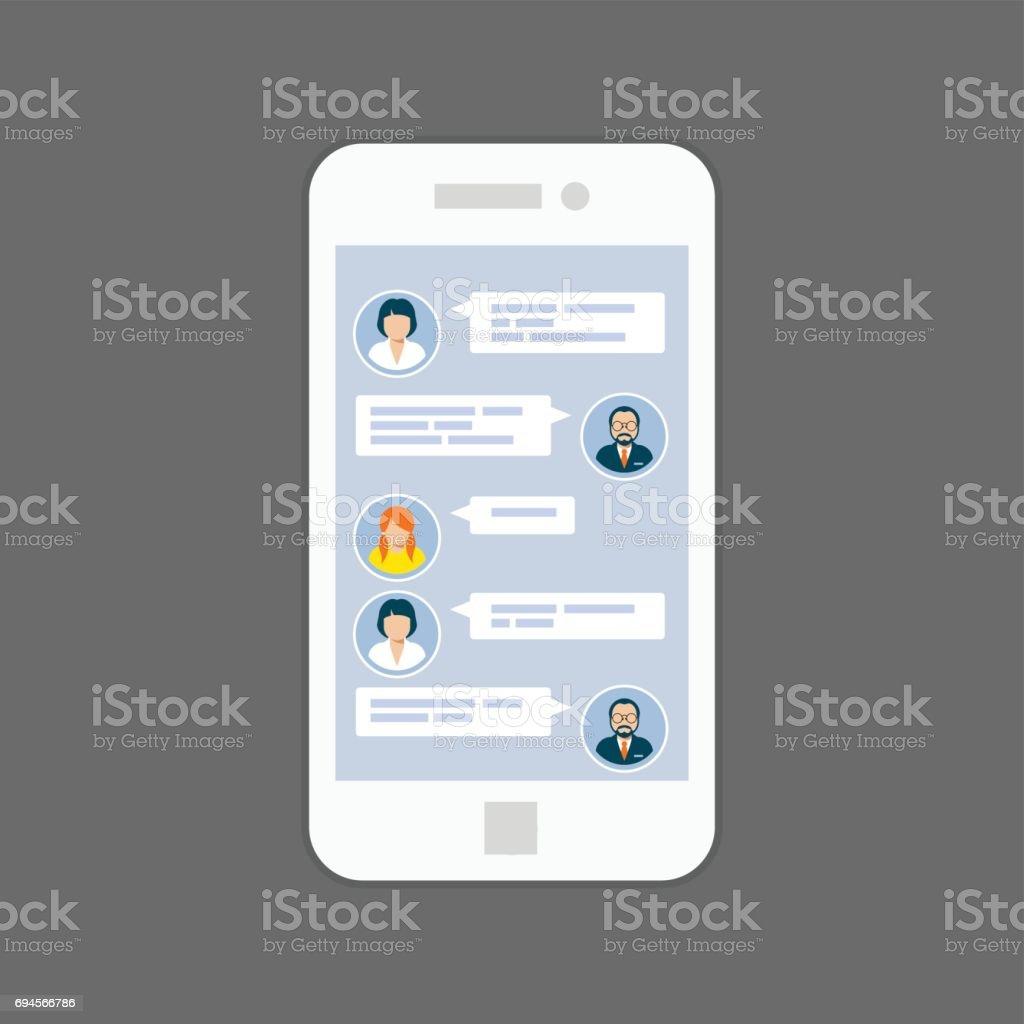SMS-bericht dating service