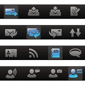 Messaging Toolbar Icons
