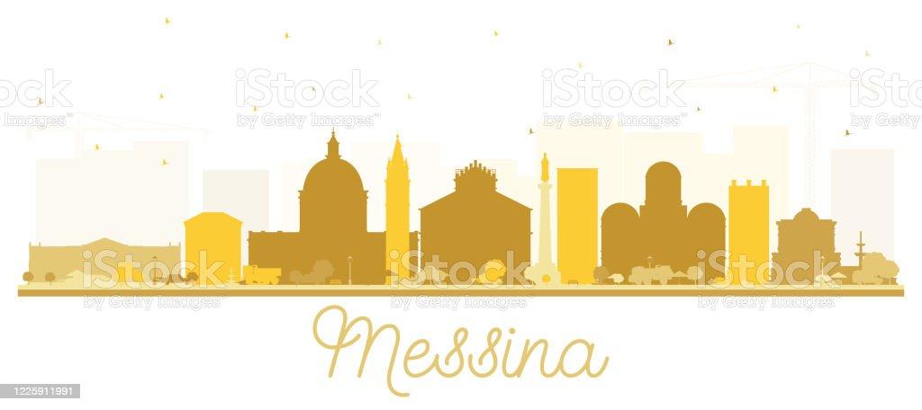 Rome Skyline And Landmarks Silhouette Stock Illustration ... |Sicily Landmark Silhouette