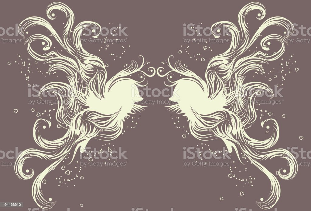 Messy hand drawn bird illustration royalty-free messy hand drawn bird illustration stock vector art & more images of animal wing