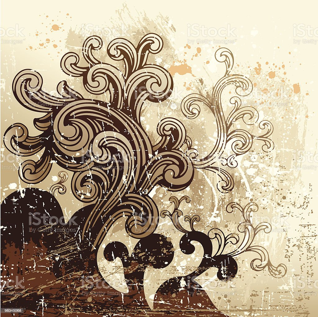 Messy Scroll royalty-free messy scroll stock vector art & more images of abstract