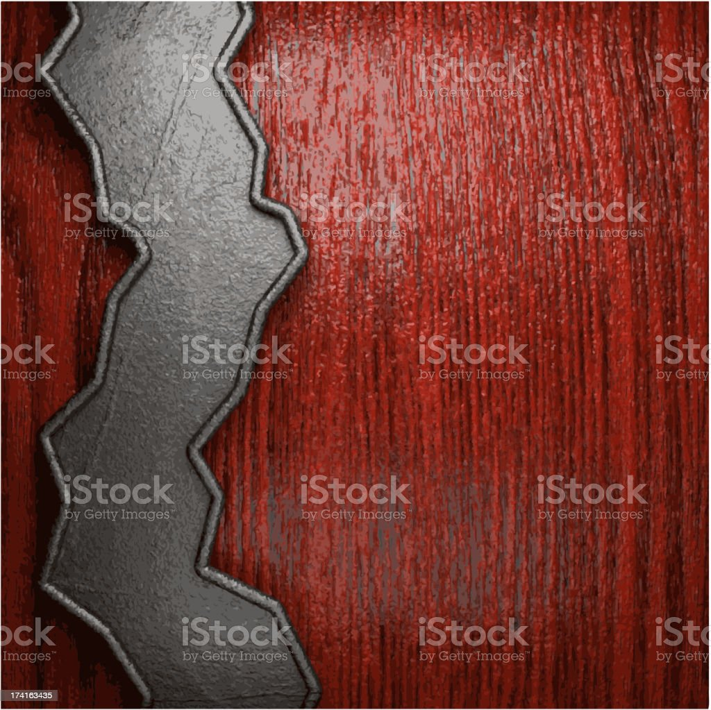 metal and wood background royalty-free metal and wood background stock vector art & more images of alloy