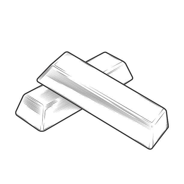 Top 60 Silver Ingot Clip Art, Vector Graphics and ...