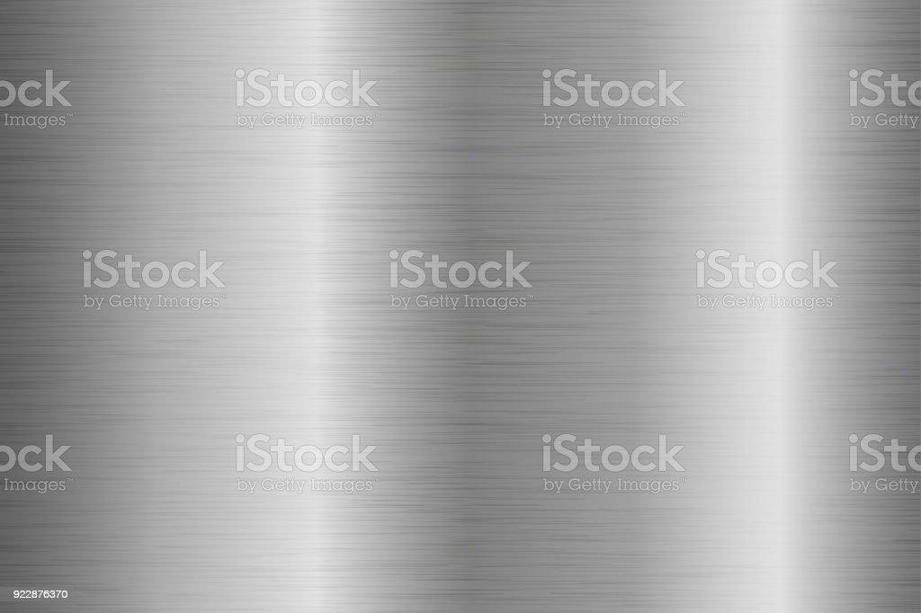 Metal cepillado a fondo con superficie rayada - ilustración de arte vectorial