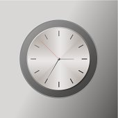 Metal Design Clock