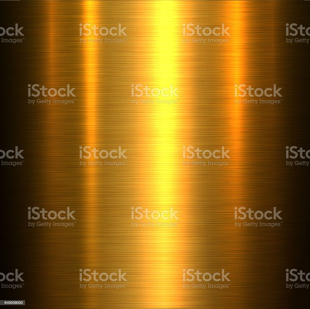 Metal gold texture background vector art illustration