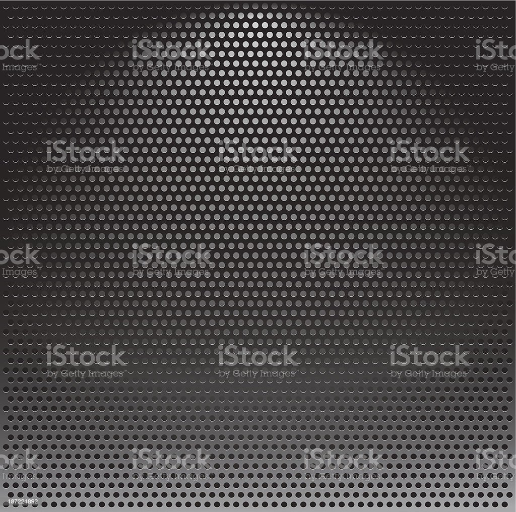 Metal grille royalty-free stock vector art