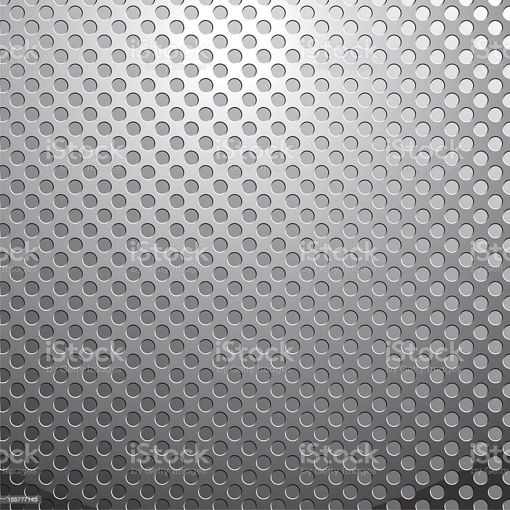 Metalllochplatte Stock Vektor Art und mehr Bilder von Baugewerbe ...