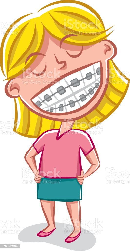 Metal Mouth vector art illustration