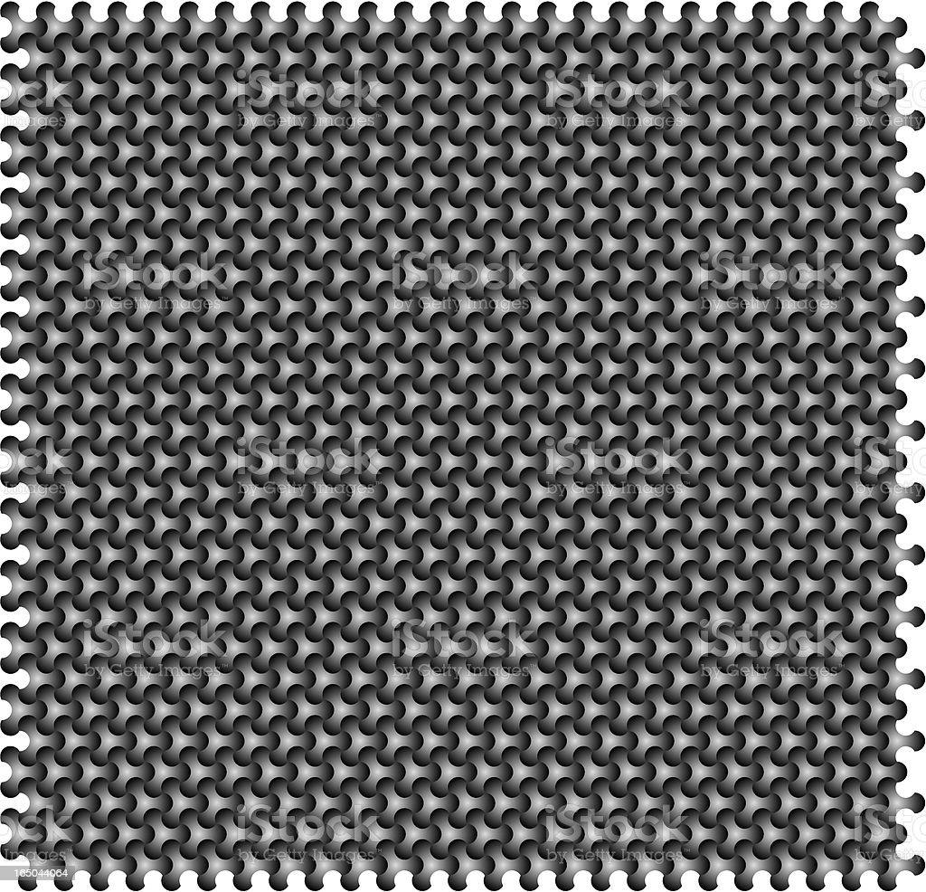 Metall-Muster – Vektorgrafik
