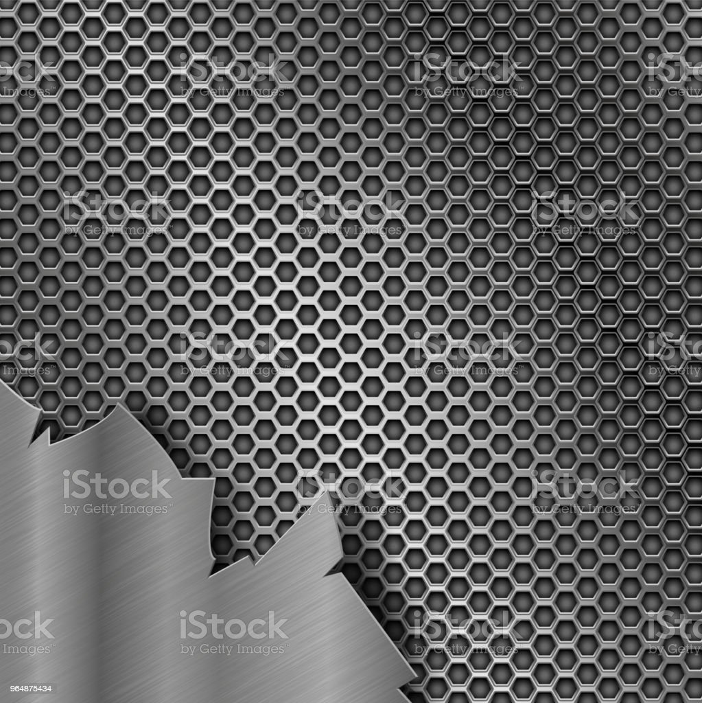 Metal perforated texture with torn iron element royalty-free metal perforated texture with torn iron element stock vector art & more images of abstract