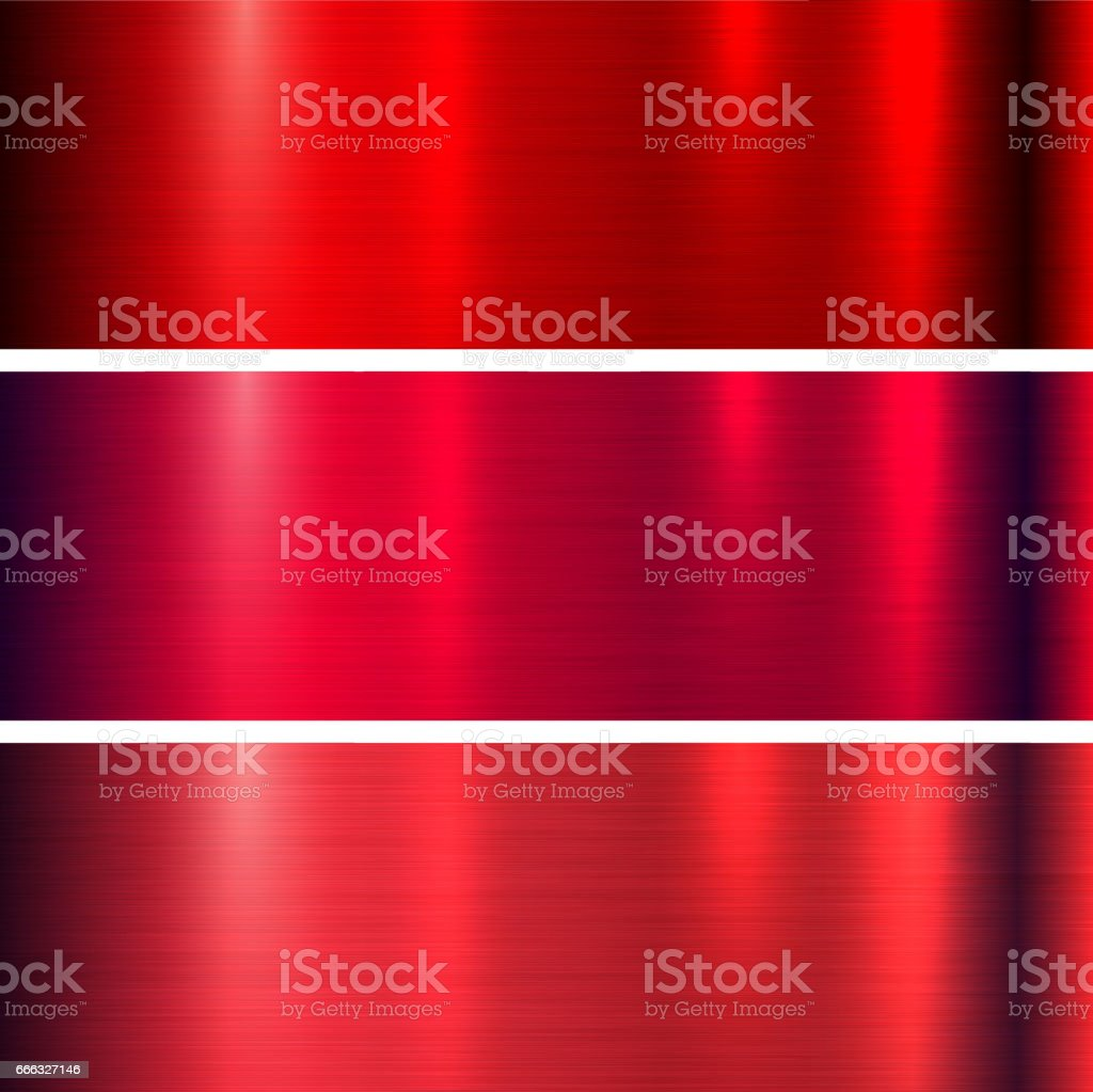 Metal red texture vector art illustration