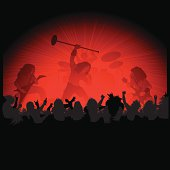 Metal Rock on Stage