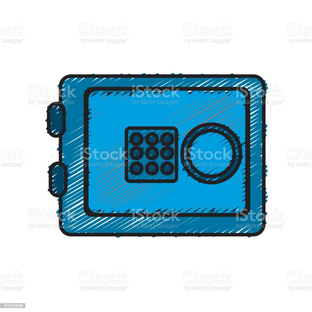 metal safe money in the house secure royalty-free metal safe money in the house secure stock vector art & more images of antiquities