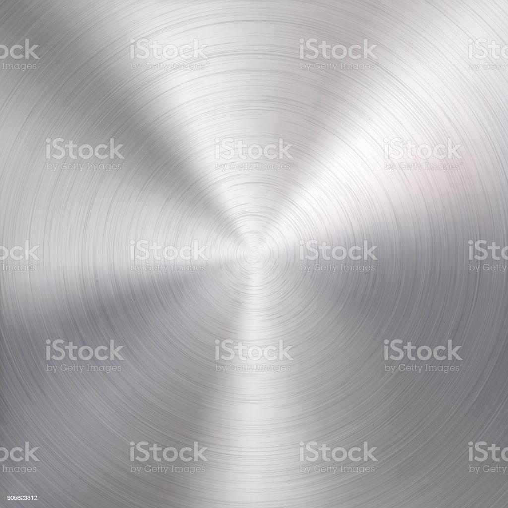 Metal Technology Background vector art illustration
