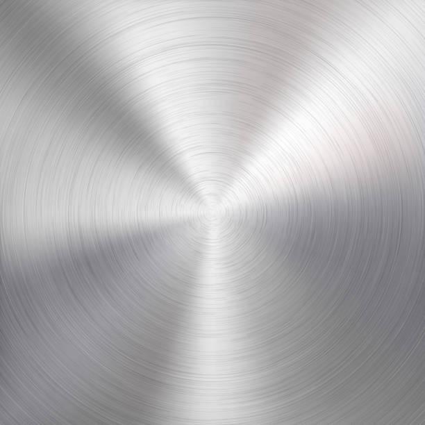 金屬的技術背景向量藝術插圖