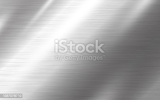 istock Metal texture background vector illustration 1057078710