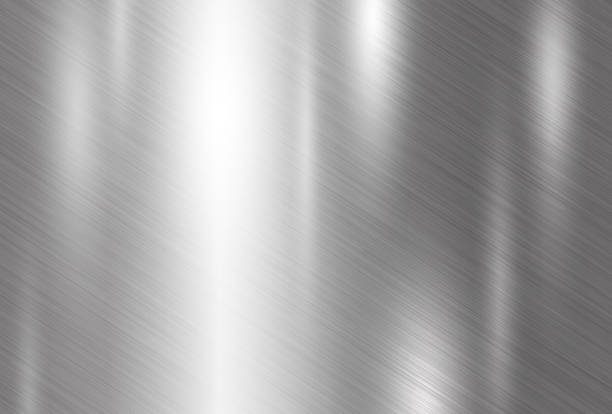 ilustracja wektora tła tekstury metalu - metal stock illustrations