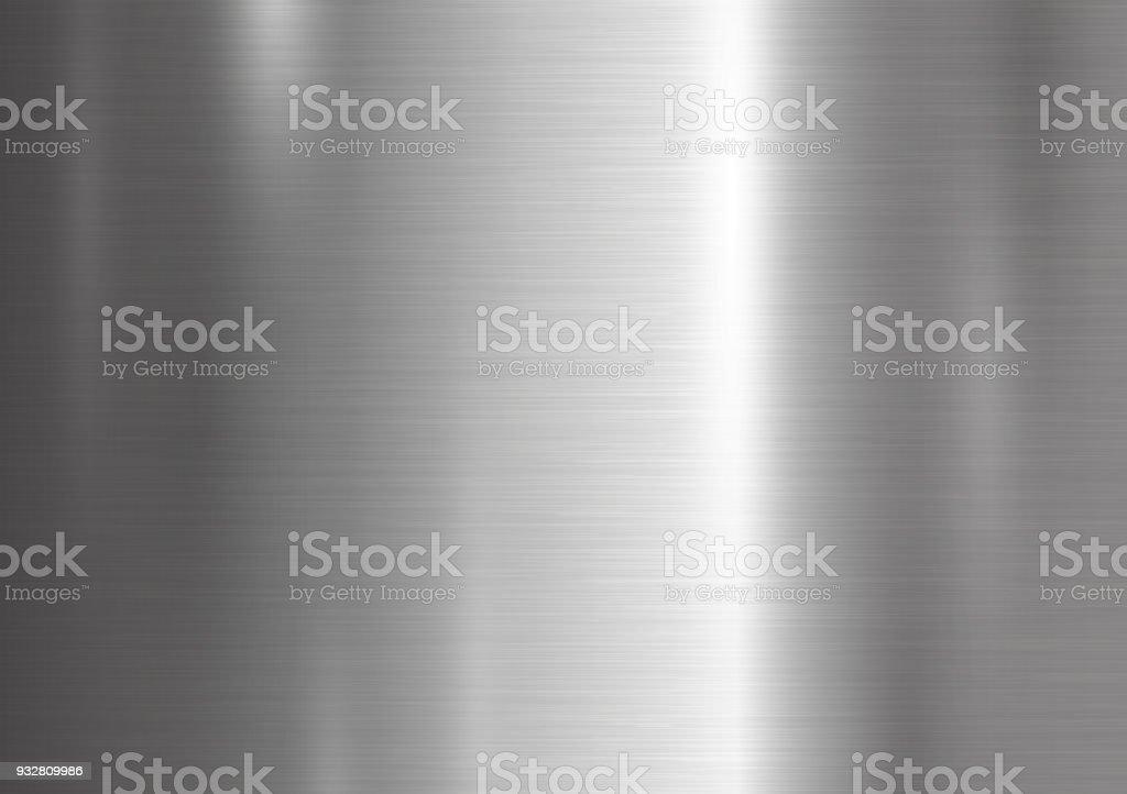Metalen textuur achtergrond vectorillustratie - Royalty-free Abstract vectorkunst