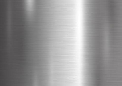 Metall Texturhintergrundvektorillustration Stock Vektor Art und mehr Bilder von Abstrakt