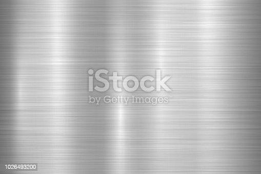 istock Metal Textured Technology Background 1026493200