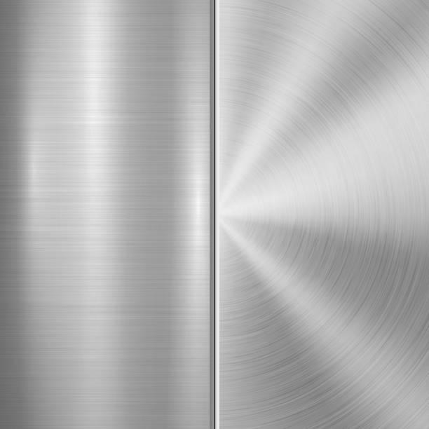 Metall Textur Technologie Hintergrund – Vektorgrafik