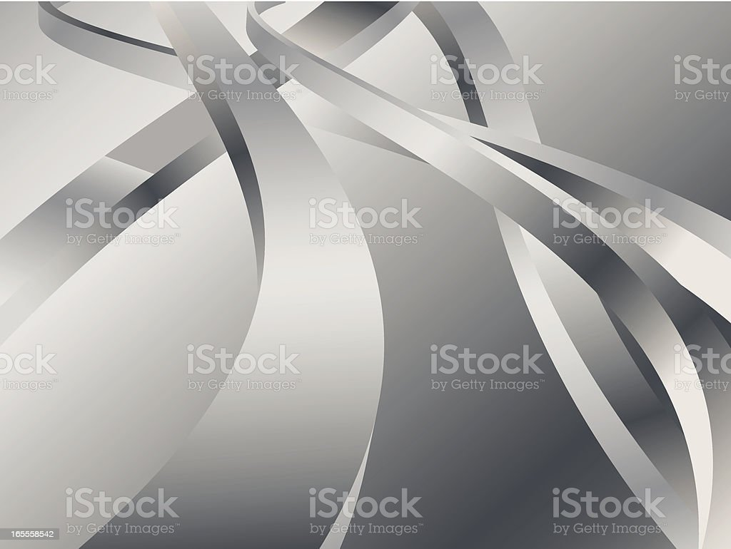 Metal Twist royalty-free stock vector art