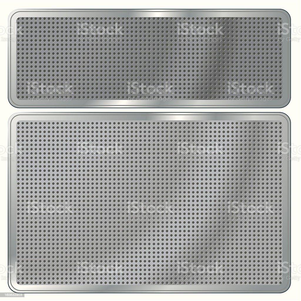 Metallic Backboard royalty-free metallic backboard stock vector art & more images of air duct