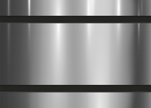 Metallic Texture Abstract Background Wall Stripe