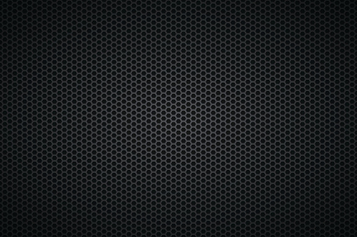 Metallic Texture - Metal Grid on wide Background