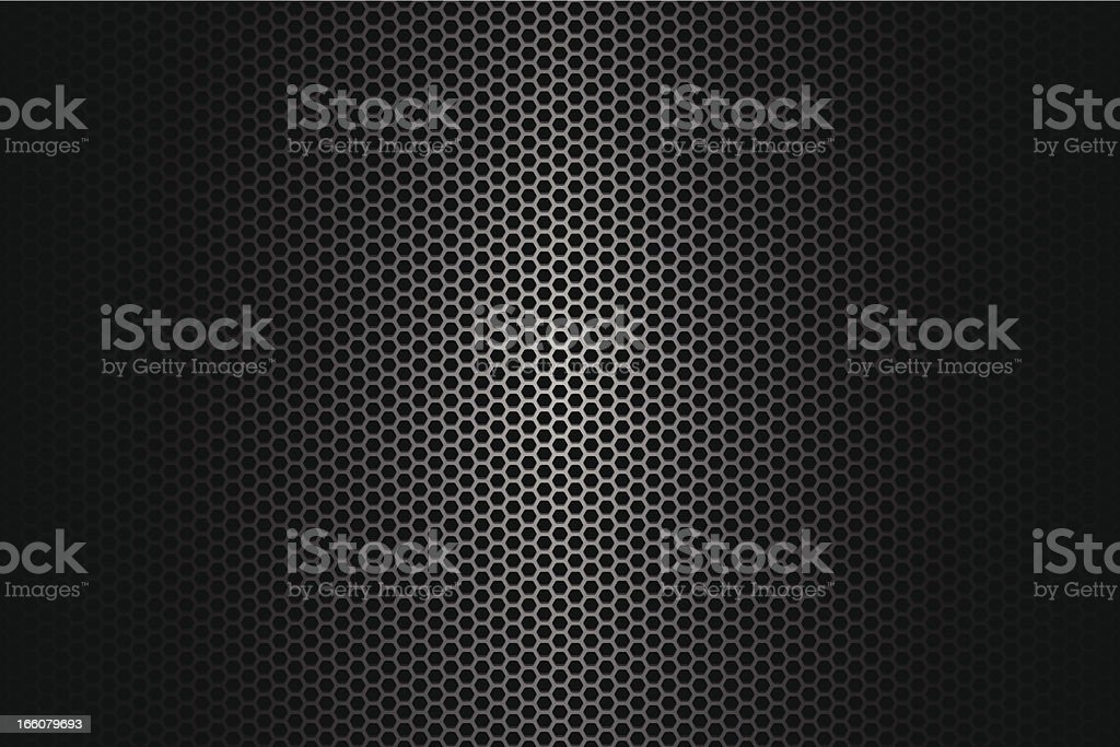 Metallic texture on wide Background vector art illustration