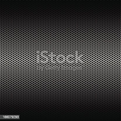 Metal grid, background texture.