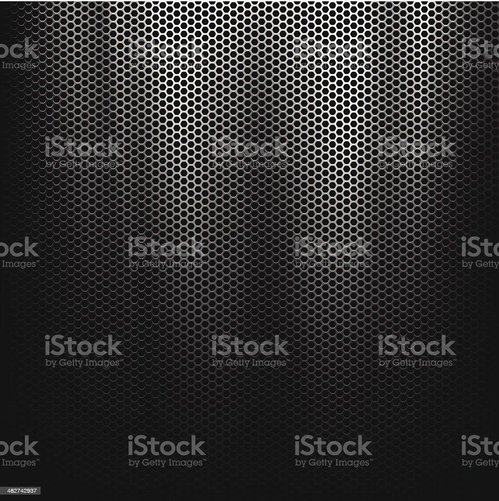Metallic Texture vector art illustration