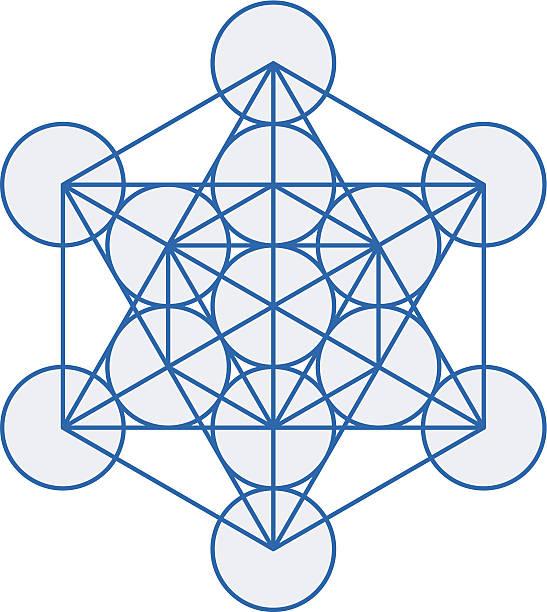 Metatron Cube – Vektorgrafik