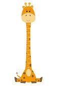 meter wall giraffe