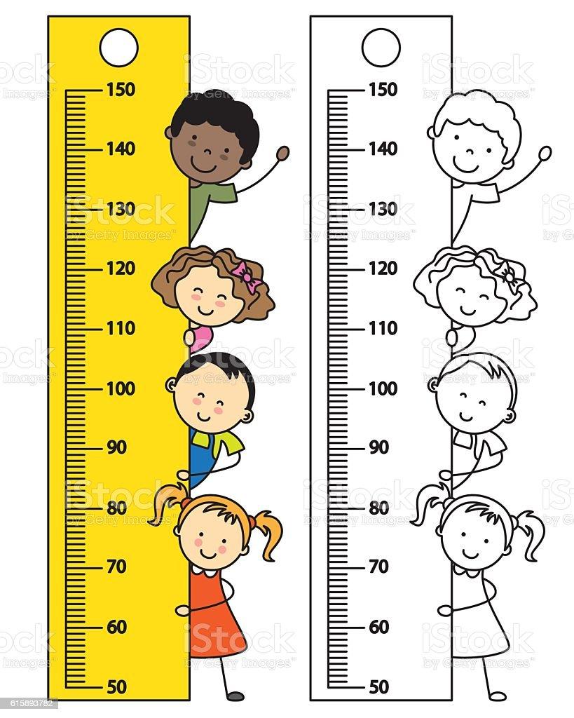 Meter Wall Stock Vector Art & More Images of Baby 615893782 | iStock