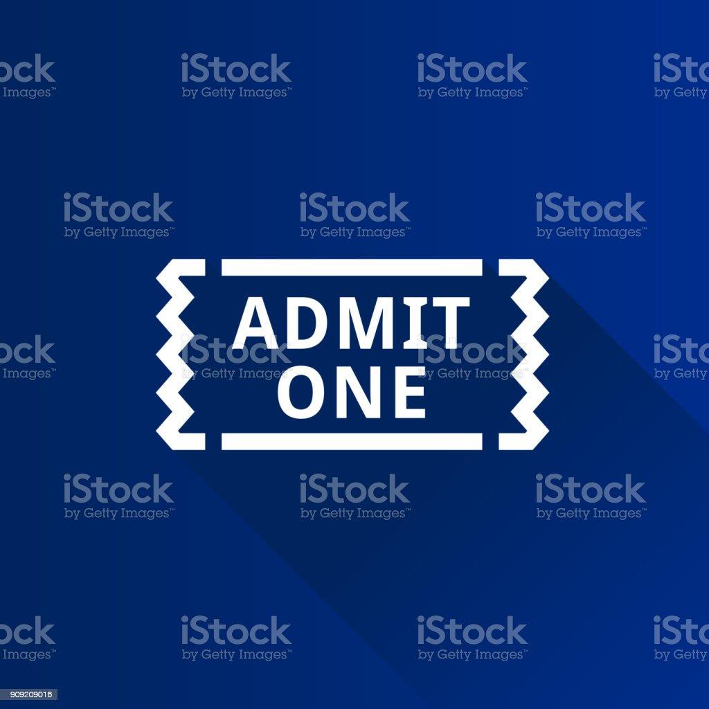 Metro Icon - Baseball match tickets vector art illustration
